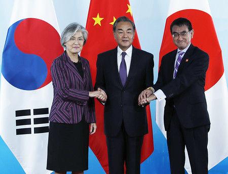 【話題】日中韓会談後の韓国外相がヤバいwwwwwのサムネイル画像