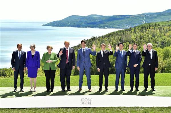 【驚愕】安倍首相、有能すぎる・・・ → G7での存在感が圧倒的な件wwwwwwwwwwwwwwのサムネイル画像