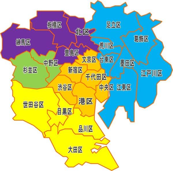 【衝撃】東京23区に住む外国人の「出身国」を調査した結果wwwwwwwwwwwwwwwwwwwwwのサムネイル画像