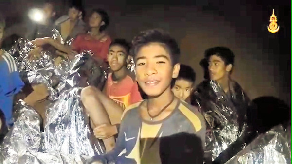 【タイ】海軍特殊部隊、洞窟に閉じ込められた少年らに「特別訓練」を実施へ!!!のサムネイル画像