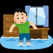 """【台風】東京23区、""""浸水"""" する地域の特徴がこれ!!!!!のサムネイル画像"""
