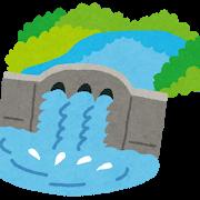 埼玉 秩父・荒川の二瀬ダム、緊急放流開始!!!!!のサムネイル画像