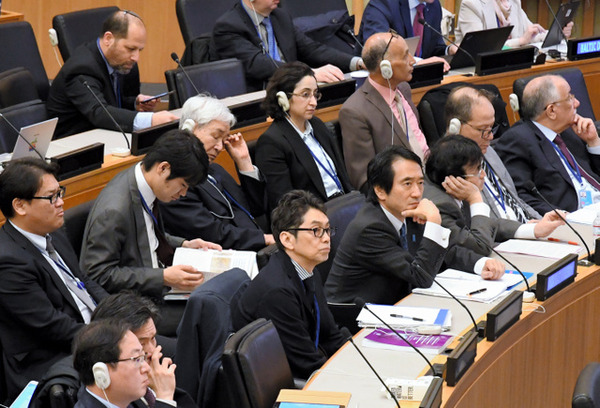 """【速報】韓国、""""国連""""で日本に喧嘩を売るw→壮 絶 バ ト ル へ wwwwwwwwwwwwwwwwwwwwwのサムネイル画像"""