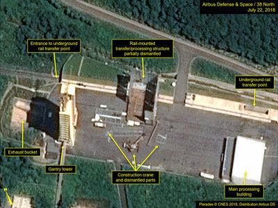 【速報】北朝鮮、ミサイル発射場でヤバい動きのサムネイル画像
