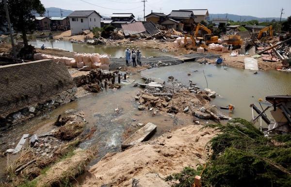 【災害】決壊した小田川の堤防、国は何度も工事を要請されていた・・・・・のサムネイル画像