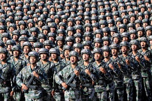 【速報】中 国、人 民 解 放 軍 投 入 か !!!!!(映像あり) のサムネイル画像