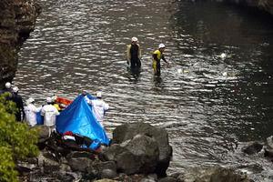 【高千穂】新たな遺体、川から引き揚げ。警察が身元の確認を急ぐ。のサムネイル画像