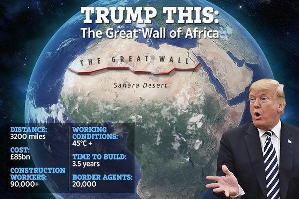 【悲報】スペイン、移民流入に困る → トランプ「サハラ砂漠に壁を!」→ その結果wwwwwwwwwwwwwwのサムネイル画像