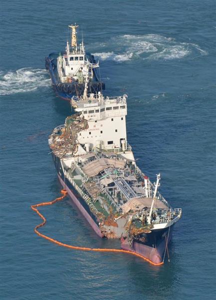 【悲報】関空衝突のタンカー船長「予見できない異常気象だった」 のサムネイル画像