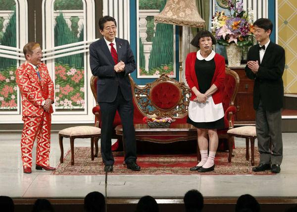 """【悲報】安倍首相「吉本新喜劇出演」→""""お笑い芸人""""の反応がwwwwwwwwwwwwwwwwwwwwwのサムネイル画像"""