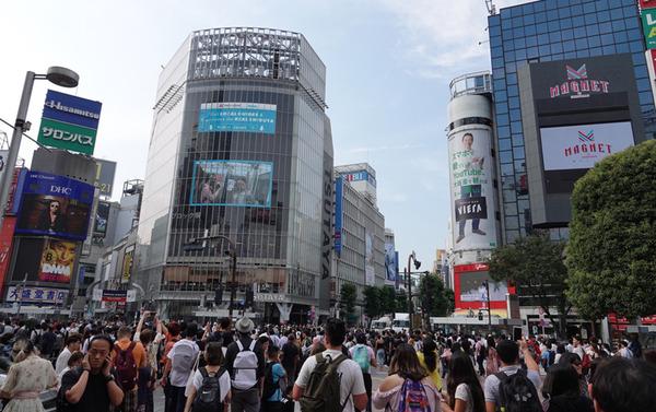 """【速報】渋谷スクランブル交差点で""""とんでもないこと""""をした男女7人を書類送検!!!!!のサムネイル画像"""