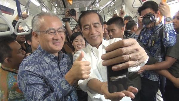 【愕然】インドネシア大統領、日本にさらなる「協力」を要請!!!→その計画がwwwwwwwwwwwwww