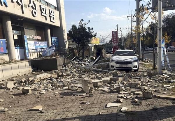【韓国】市民71人、M5.4の地震で国を提訴!!!!!のサムネイル画像