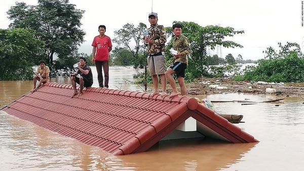 【ラオス】韓国企業らにより建設中のダムが決壊!!!→ 被害が酷すぎる・・・・・のサムネイル画像