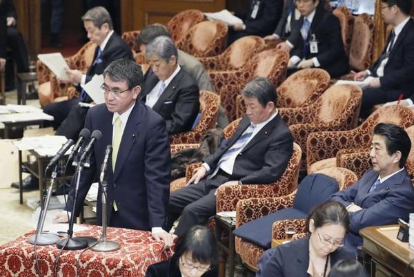 【朗報】河野太郎外相、徴用工問題で「対抗策」用意へ!!!!!のサムネイル画像