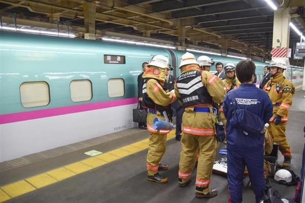【速報】東北新幹線で発火!!!→ その原因が・・・・・のサムネイル画像
