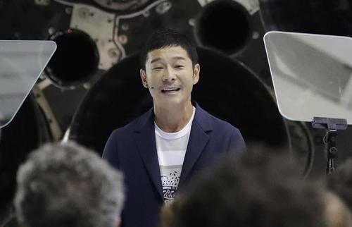 【衝撃】ZOZO前澤社長、「月旅行」めぐりコメントを発表!!!→ 「アーティスト」たちも同行へwwwwwwwwwwwwwwwwwのサムネイル画像