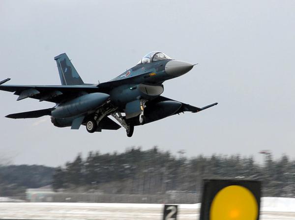 【速報】空自・F2戦闘機、墜落→パイロット2名は発見される!!!!!! のサムネイル画像