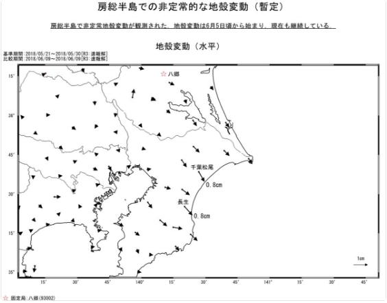 【緊急】関東大震災くる??? 異常な地殻変動を検出!!!のサムネイル画像