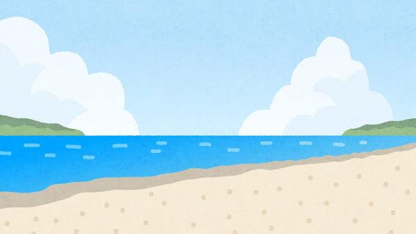 """【動画】海水浴場にとんでもない""""無法者""""が出現!ヤバすぎる・・・・・・のサムネイル画像"""