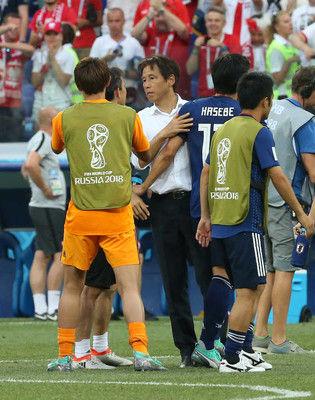 【ワールドカップ】西野朗監督、16強も笑顔なし → 今回の試合の難しさを語るのサムネイル画像