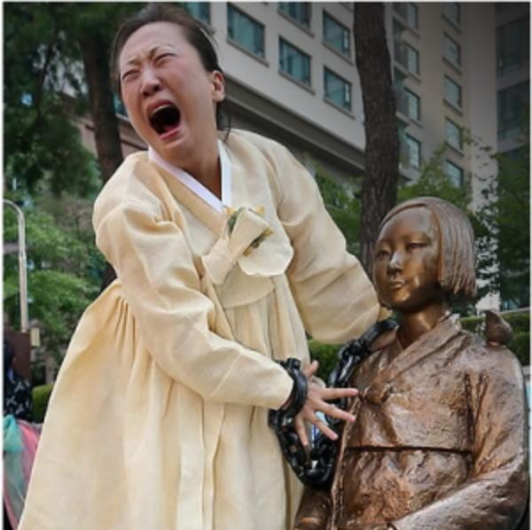 【画像】 韓国の慰安婦像、巨大になるwwwwwwwwwwwwwwwのサムネイル画像