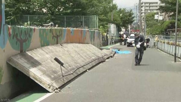 【9歳女児死亡】「ジャッキでも塀が上がらない!」→ 当時の現場の様子が痛ましすぎる・・・のサムネイル画像