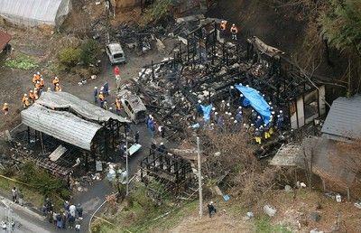 【福島】火事にあった女性、火の中から夫に電話 → その内容が・・・・・のサムネイル画像