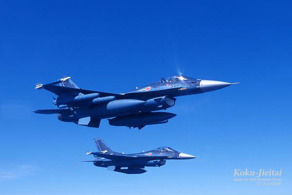 【速報】空自、F2戦闘機同士が飛行訓練中に接触!!!!!のサムネイル画像