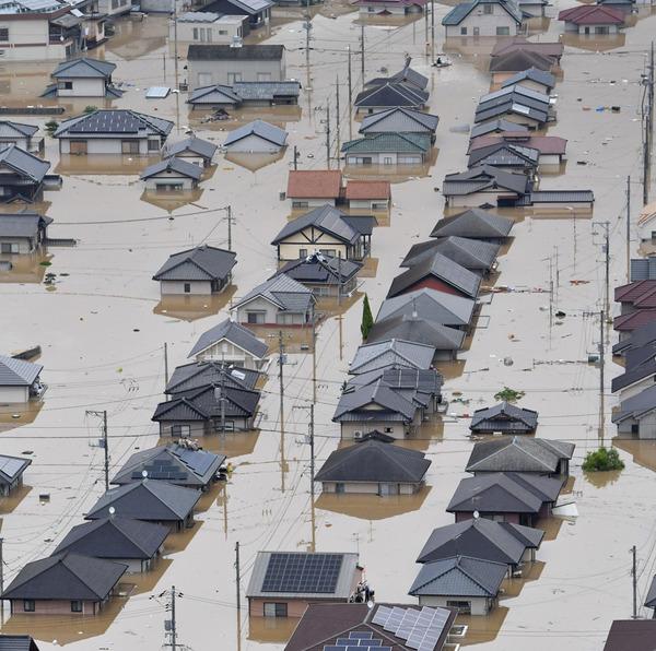 【戦慄】豪雨が東京直撃だったら?→ 死者数や被害総額がヤバ過ぎる・・・・・のサムネイル画像