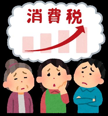"""【速報】日本さん、消費税10%の """"現在"""" がコチラwwwwwwのサムネイル画像"""