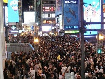 【悲報】ハロウィン、大阪も盛り上がった結果wwwwwwwwwwwwwwwwのサムネイル画像
