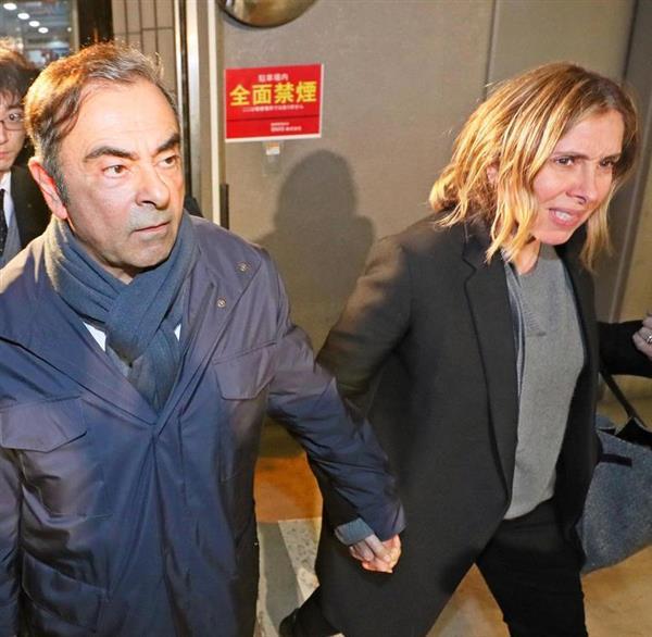 【悲報】ゴーン妻、フランスメディアにも見放された結果wwwwwwwwwwwwwwwwwwwwwのサムネイル画像