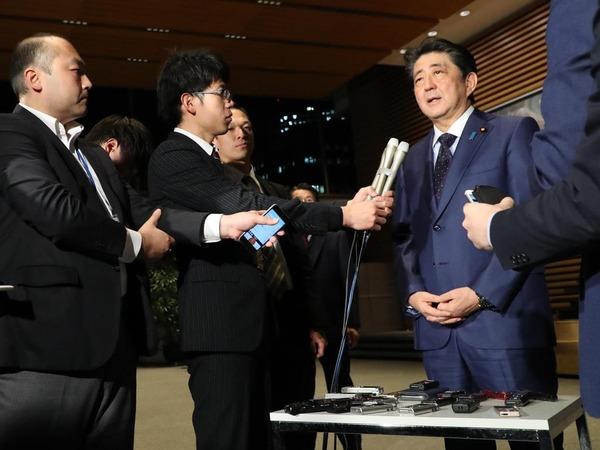 【速報】安倍首相、来年への抱負を語る!!!!!のサムネイル画像