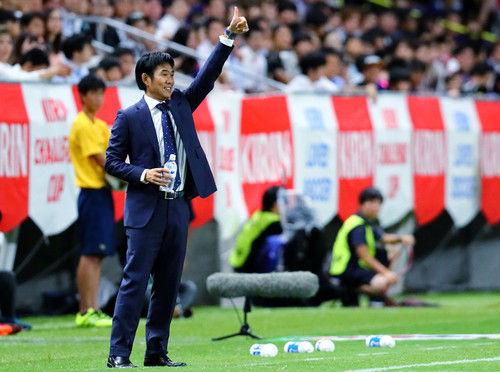 【サッカー】日本代表、パナマ戦のスタメンを発表!!!!!のサムネイル画像