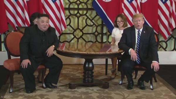 【速報】米朝首脳会談、合意なしで解散へwwwwwwwwwwwwwwwwwwwwwのサムネイル画像