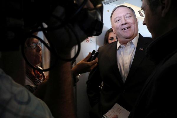 【ロイター】ポンペオ国務長官、タイへの機上で「日韓関係」について語るwwwwwwwwwwwwwwwwwwwwwwwwのサムネイル画像