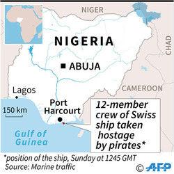 【激震】ナイジェリア沖で海賊がスイスの貨物船を襲う!!!→ その結果がヤバい・・・・・のサムネイル画像