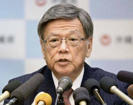 【速報】沖縄の翁長雄志知事が死去。67歳。のサムネイル画像