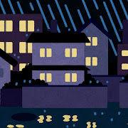 bg_rain_jutaku_yoru