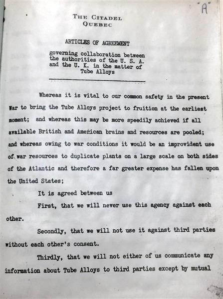 【衝撃】日本への原爆投下、あの人物が同意していた!!!→ 1945年の秘密文書で事実が判明へ・・・・・のサムネイル画像