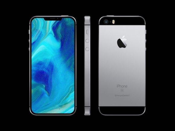 【朗報】iPhone SE、X風で6月に発売キタ━━━━(゚∀゚)━━━━!!のサムネイル画像