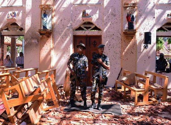 """【速報】「スリランカ連続テロ」""""あの事件""""への報復だった・・・・・ のサムネイル画像"""