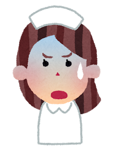 【緊急悲報】看護師さん、一斉に逃げ出す…!!!!!!!