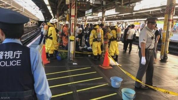 【戦慄】JR新宿駅ホームで「缶」が突然破裂!!!→ その結果・・・・・のサムネイル画像