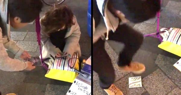 【動画】男「違法路上ライブを撲滅したい!」→ ヤバい行動に出る・・・・・のサムネイル画像