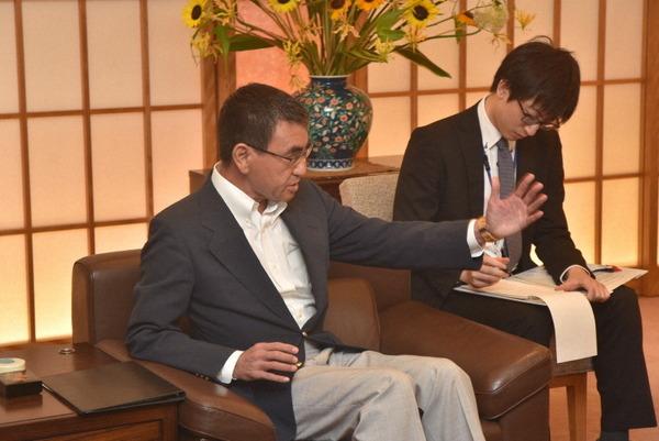 【速報】河野外相、韓国大使呼び猛抗議!!!←かなりブチギレている件wwwwwwwwwwwwwwwwwwwwwのサムネイル画像
