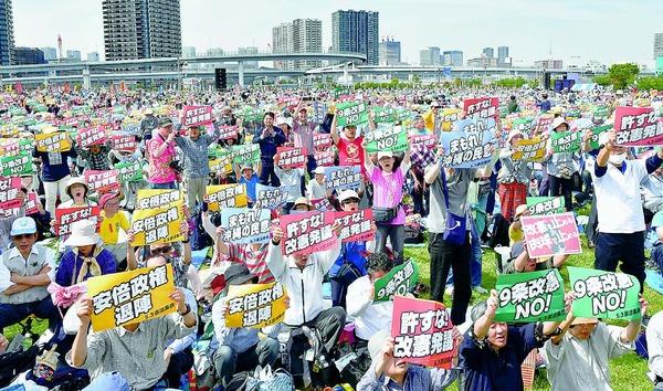 """【動画】""""朝鮮学校""""の生徒たちが「憲法集会」に集まった結果wwwwwwwwwwwwwwwwwwwwwのサムネイル画像"""