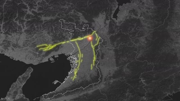【緊急悲報】地震発生後、周辺活断層に新たにひずみが発生した模様・・・のサムネイル画像