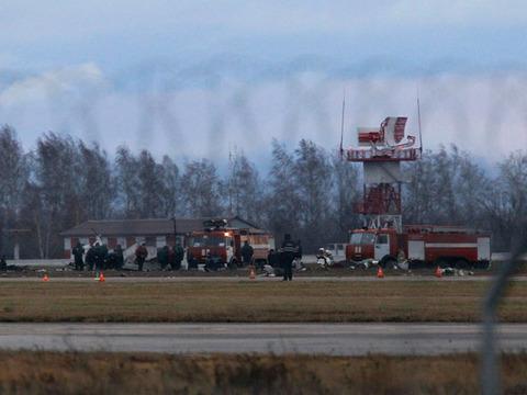 ロシアの旅客機墜落映像が絶望的すぎる なんだこれ・・・ 2ch「そりゃ生存者ゼロだわ」【動画あり】 のサムネイル画像